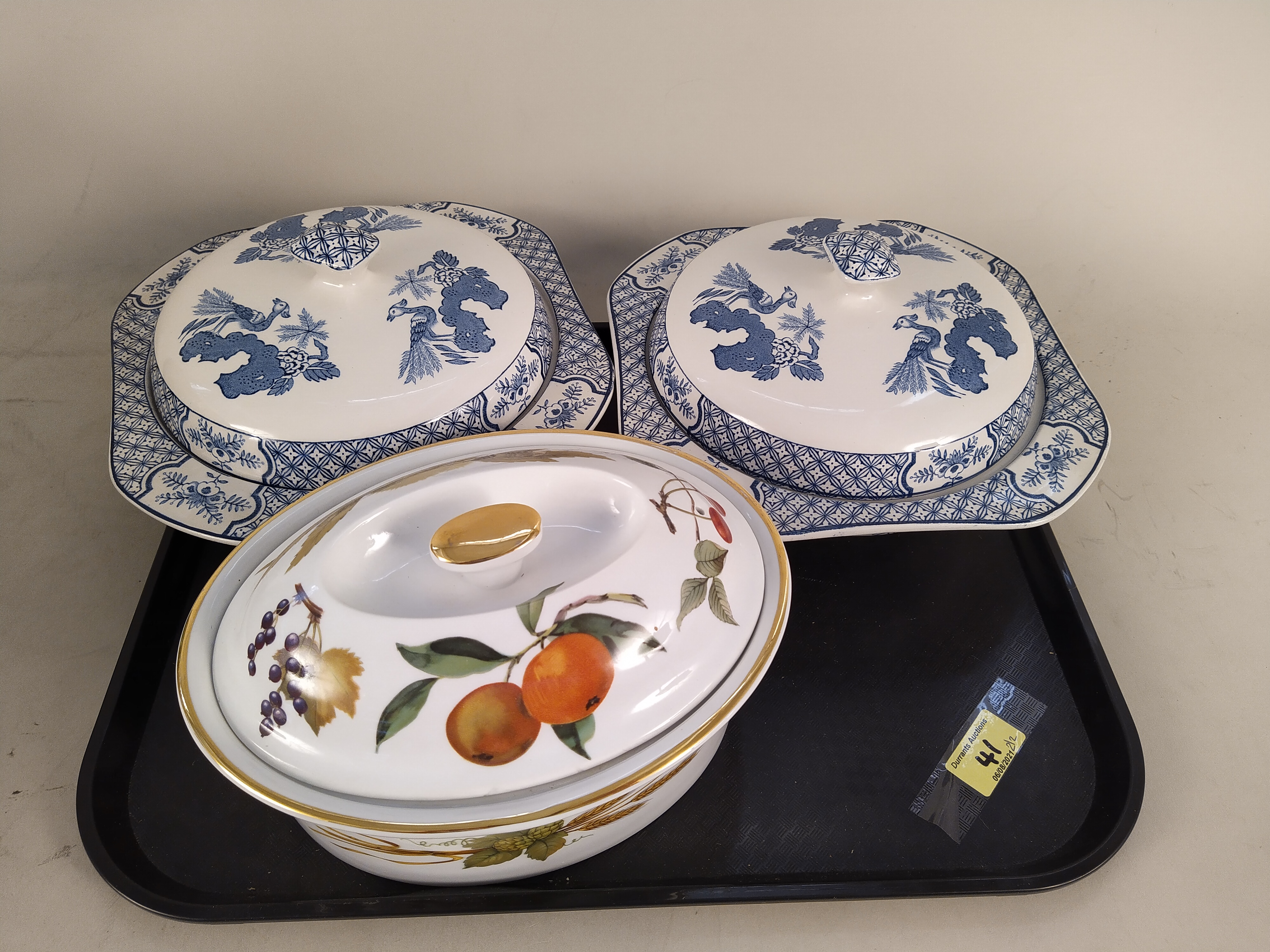 Three Victorian pottery jugs, - Image 3 of 3