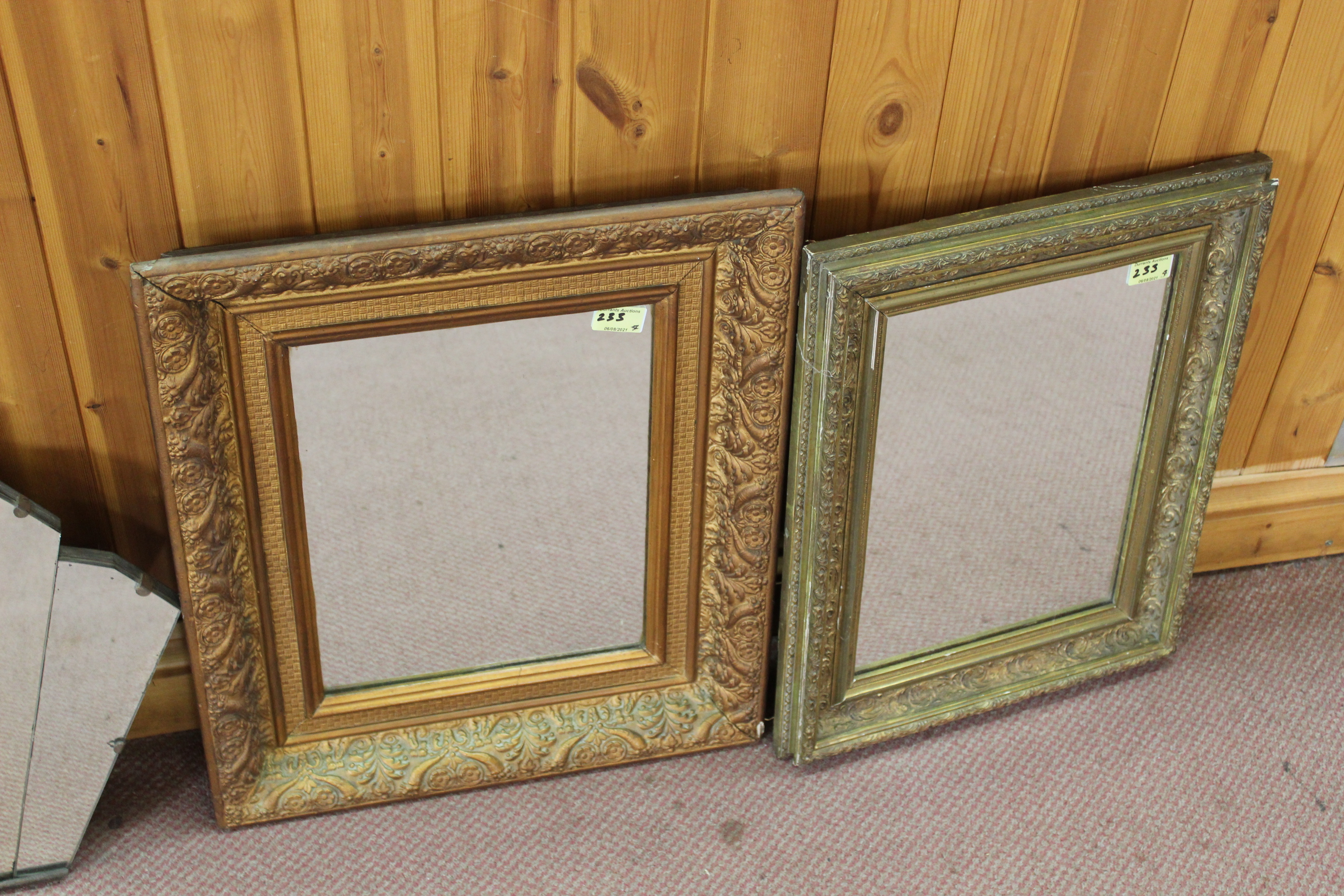 Two gilt framed mirrors, - Image 3 of 3