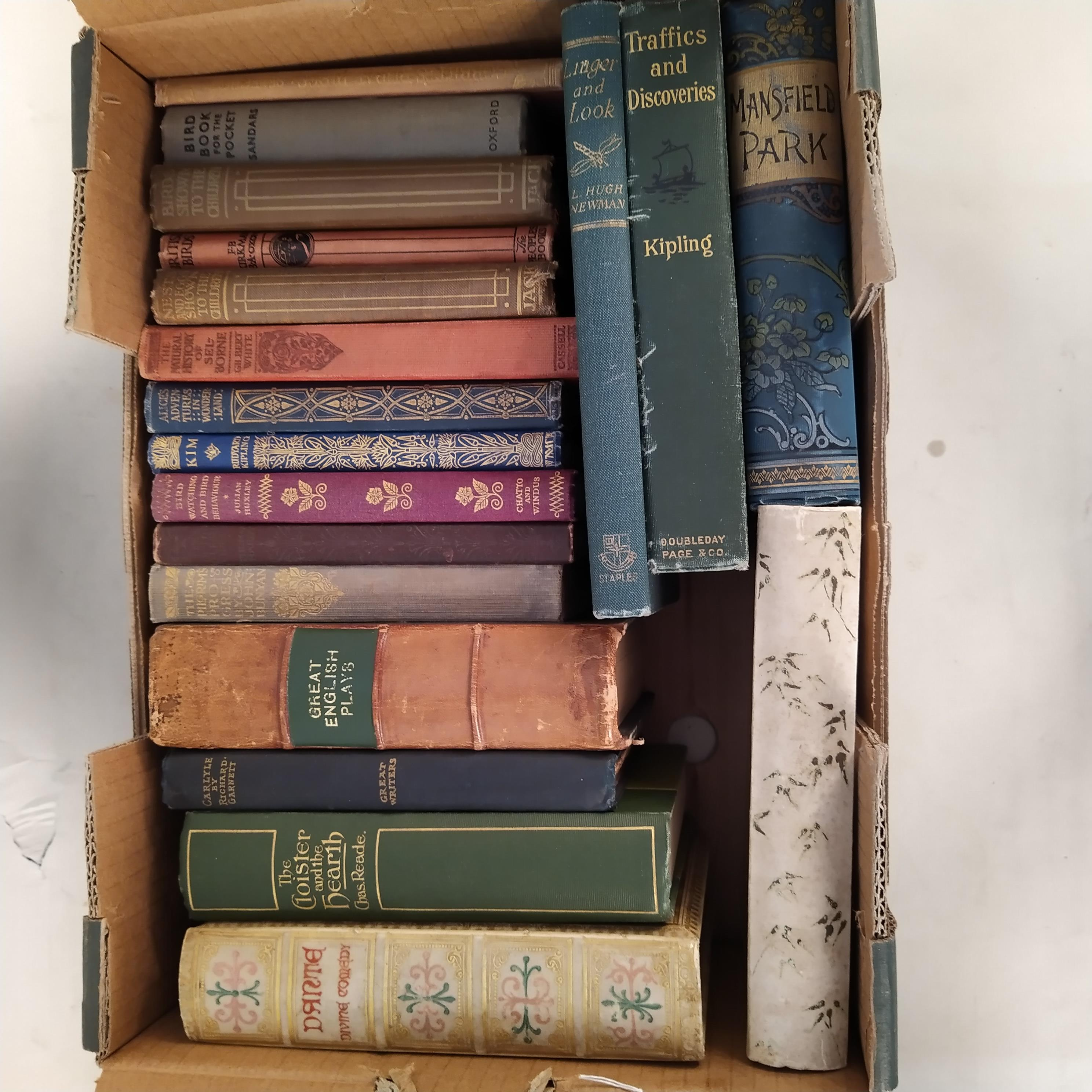 A selection of late Victorian/early 20th Century books including titles on birds, - Image 2 of 3