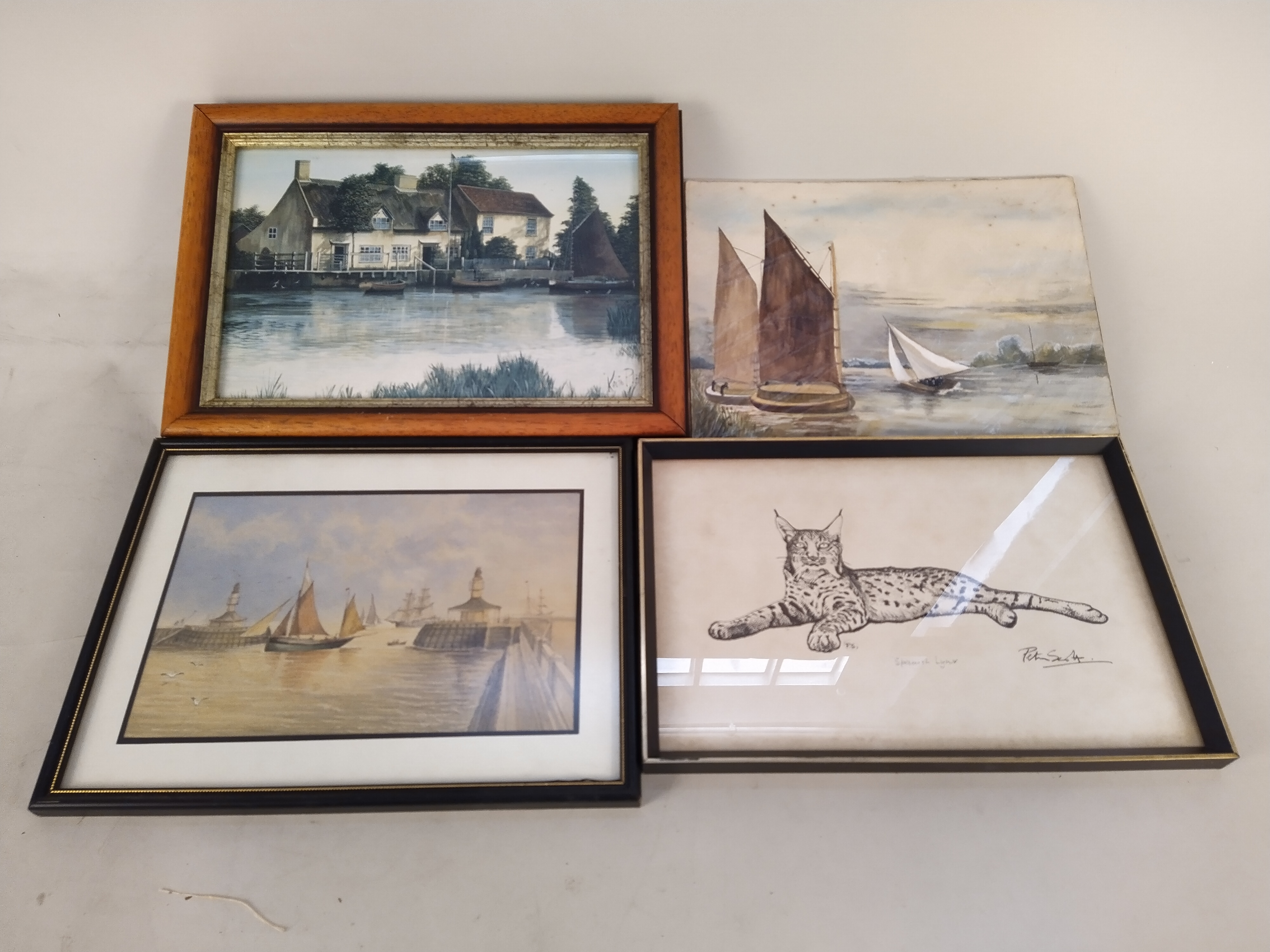 Eight assorted framed prints on various subjects - Image 2 of 3