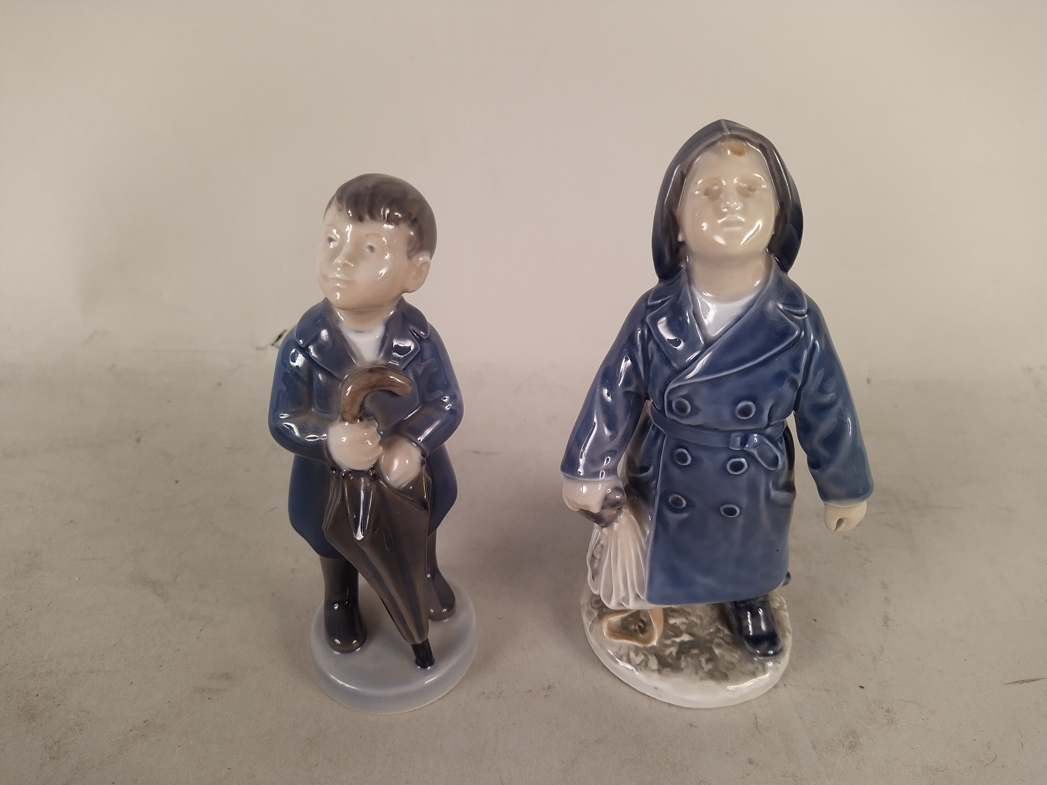 Four Copenhagen boy figurines, - Image 2 of 3
