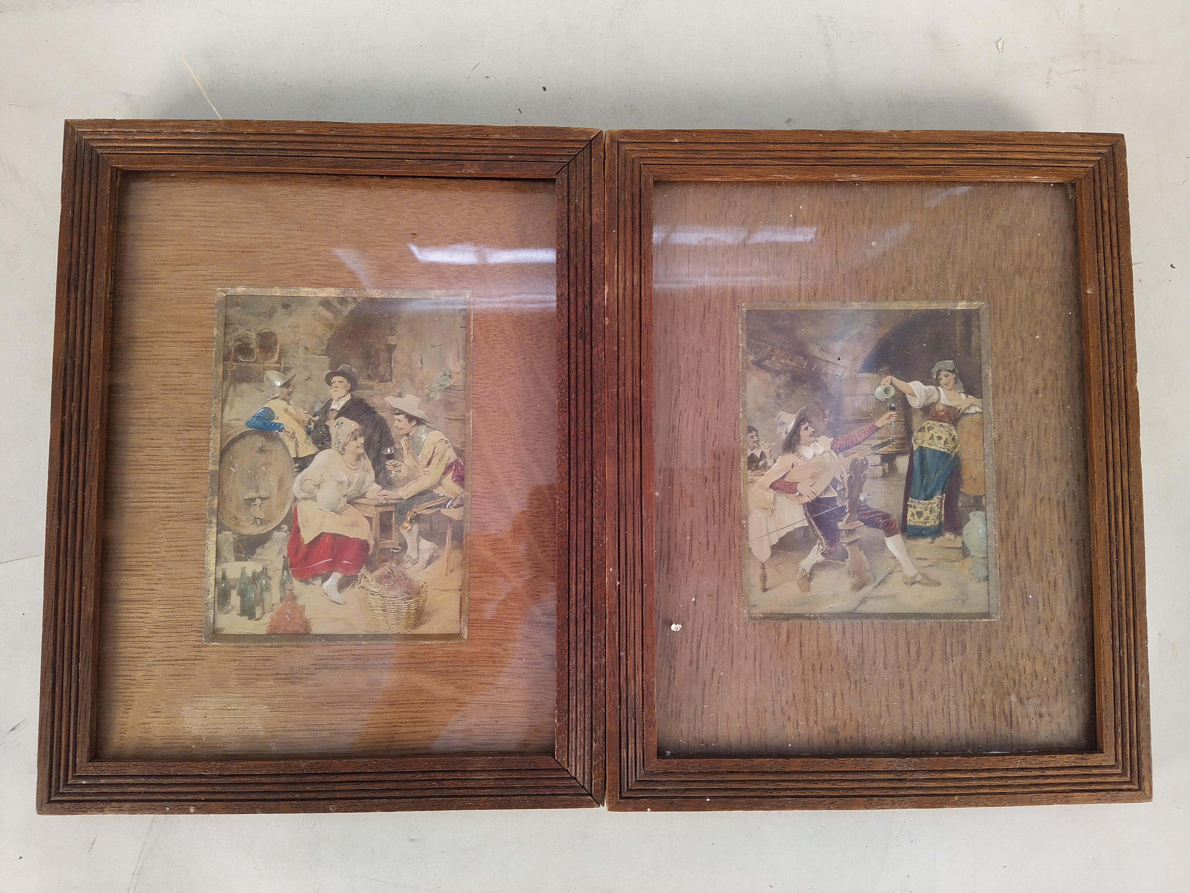 Eight assorted framed prints on various subjects - Image 3 of 3