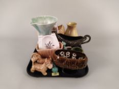 A large group of Sylvac ceramics including vases,
