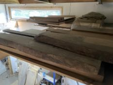 Qty of mixed length planed timber approx. 11 lengths. Stored near Clenchwarton, Kings Lynn.