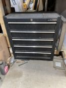 US Pro Tools 5 drawer Tool Box. Stored near Clenchwarton, Kings Lynn. No VAT on this lot.
