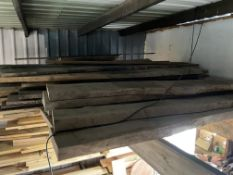 Qty of Mixed Timber approx. 65 lengths. Stored near Clenchwarton, Kings Lynn. No VAT on this lot.