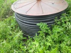 2 Ex irrigator pipe drums with pipe.