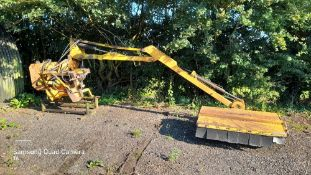 McConnel PA 93 hedge cutter, full working order, new pipes last year, gearbox and pump 3 years old,