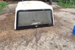 Fibre glass pick up canopy. Bottom lengt