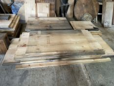 Qty of Mixed planed timber approx. 32 lengths. Stored near Clenchwarton, Kings Lynn.