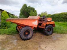 Wibau Winget 4B3000 Dumper, 4 wheel drive, maximum 3 tonne load, oil immersed brakes,