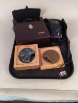 A set of Minolta 10 x 50 binoculars,