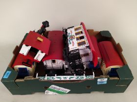 LBG by Lehman circus train set with engine,