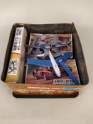 Two vintage Airfix 32 scale boxed models,