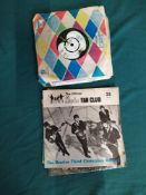 Four 1960's Beatles singles, She Loves You, All You Need is Love,