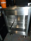 *Stainless Steel Preparation Unit 60x70cm