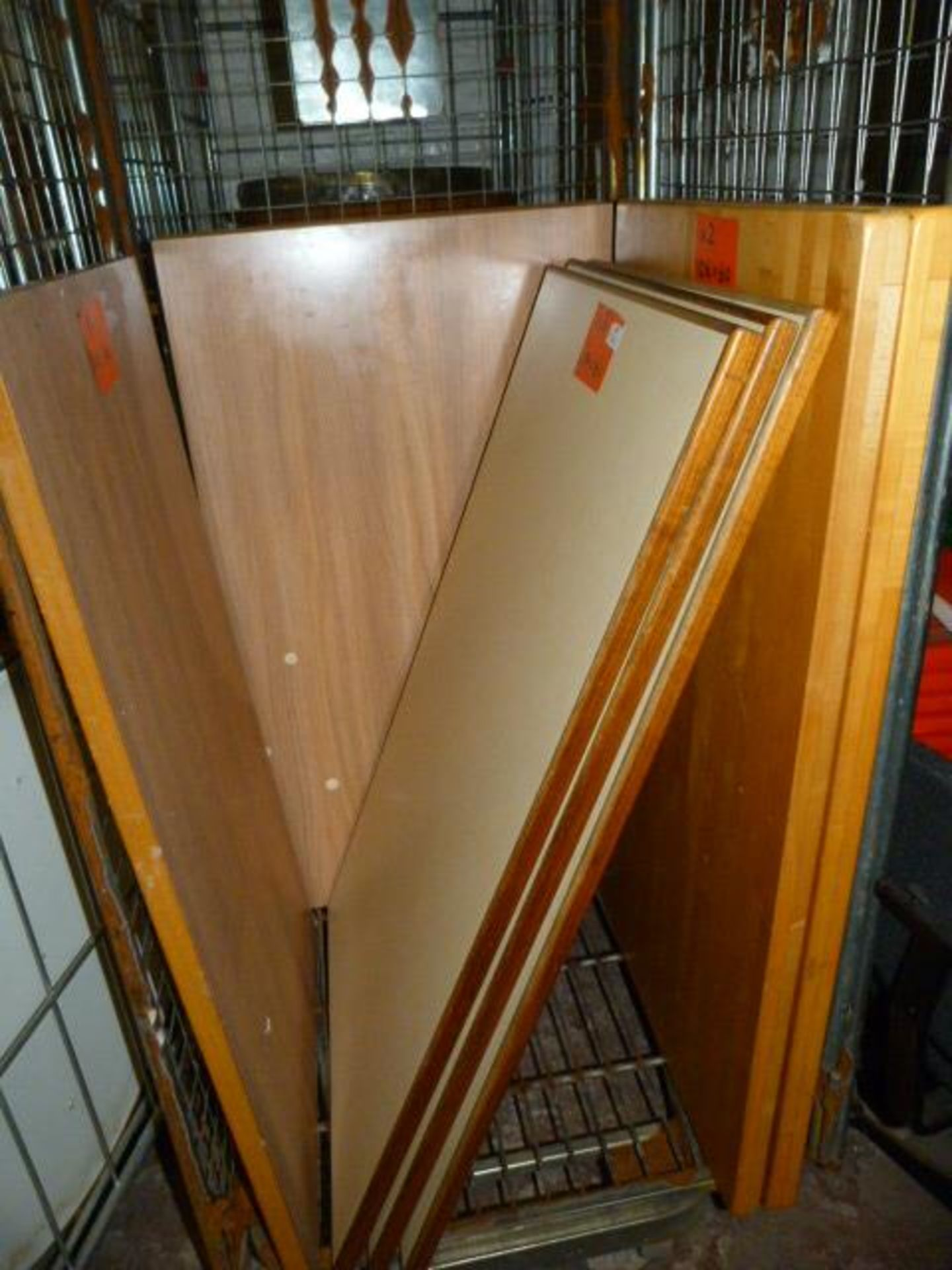 *10 Oblong Table Tops Mixed Sizes & Styles