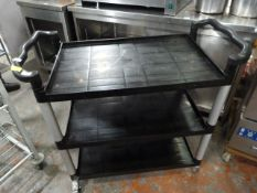 *Three Tier Catering Trolley