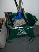 *Kentucky Mop & Bucket plus Wet Floor Sign