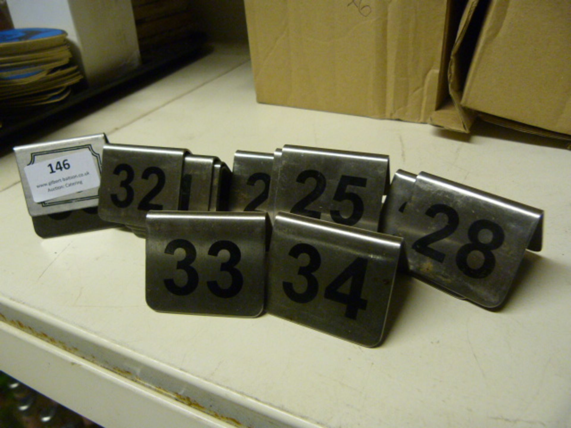 *14 Table Numbers
