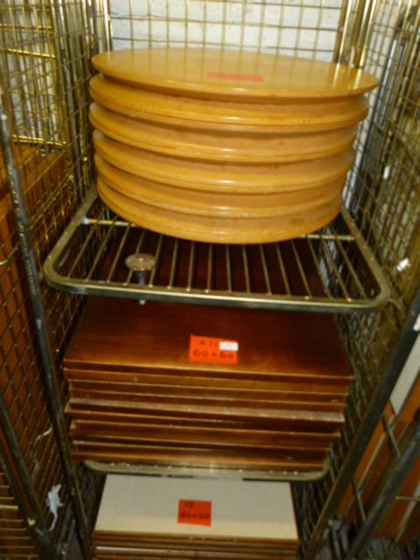*Mixed Lot of Round & Square Table Tops - 11 - 60cm Diameter and 16 - 60x60cm