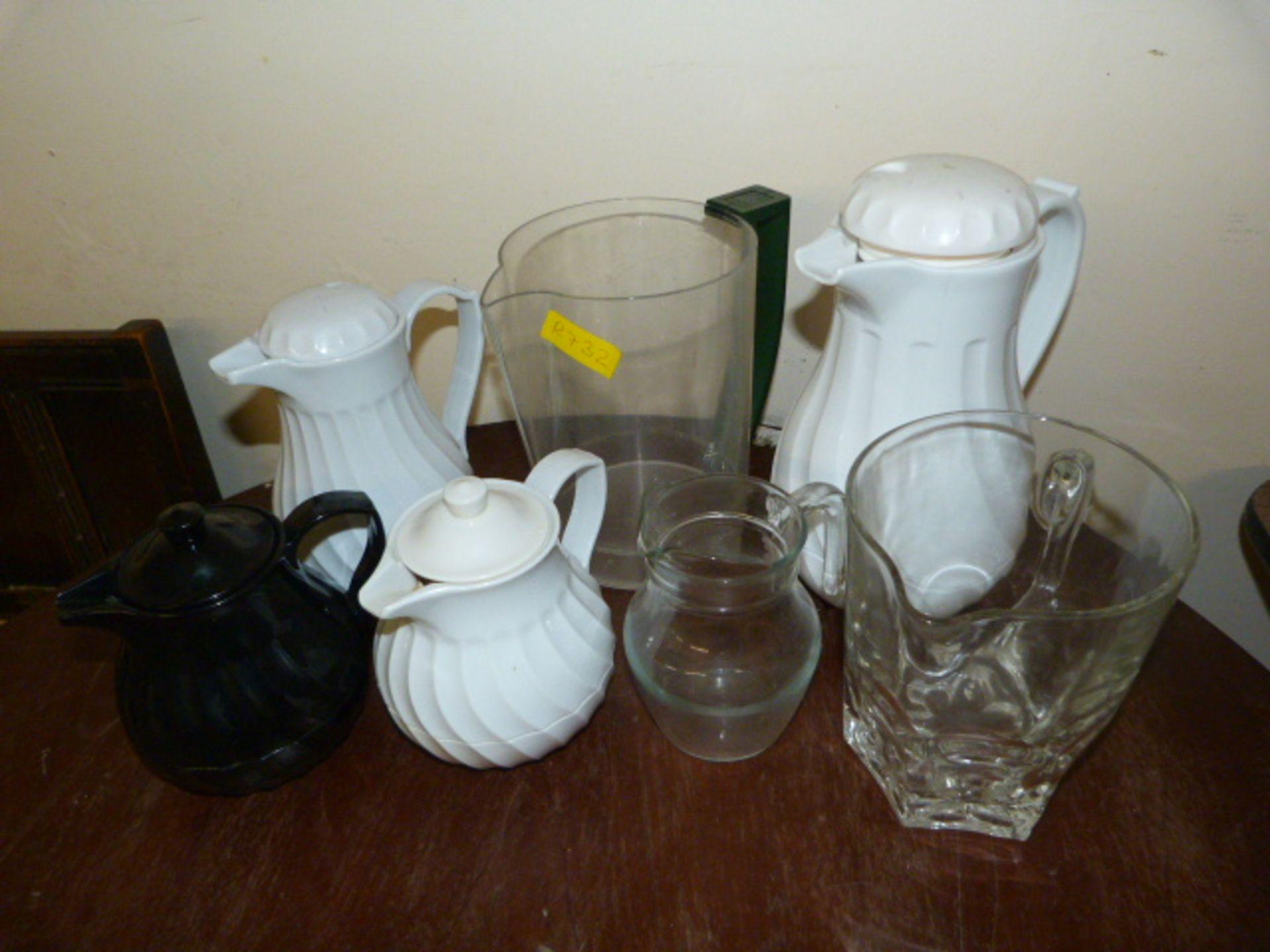 *Assorted Plastic & Glass Jugs