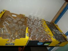 3 Boxes of Assorted Glasses