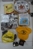 Football Collectibles; Hull City Medallion, Photographs, Inflatable Tiger, etc.