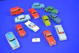 Playworn Dinky Diecast Cars