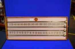 Billiard Scoreboard by Smith & Sons Rotherham
