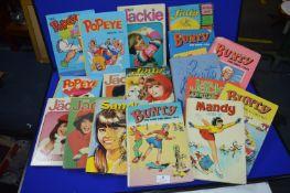Seventeen Assorted 1970's Girl's Annuals