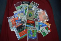 Wembley FA Cup Final Programmes plus England 1966 World Cup Championship Program