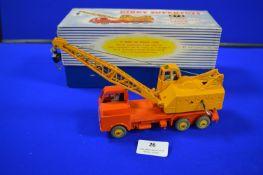 Dinky Super Toys 972 20 Tonne Lorry Mounted Crane in Original Box