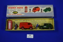 Dinky Gift Set 299 Post Office Services in Original Box
