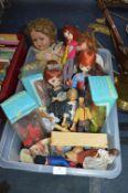 Vintage Dolls Including a Modern Miss