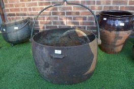 Large Cast Iron Cauldron (AF)