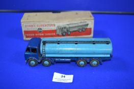 Dinky Super Toys 504 Foden 14 Tonne Tanker in Original Box