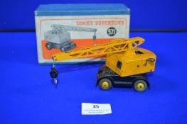 Dinky Super Toys 571 Coles Mobile Crane in Original Box