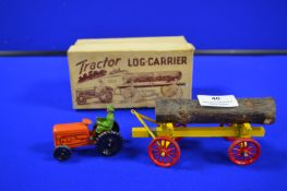 Benbros Tractor and Log Carrier in Original Box
