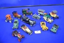 Assorted Diecast Toy Vehicles