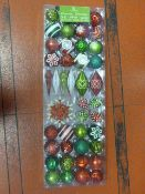 *CG Hunter 54pc Christmas Ornaments