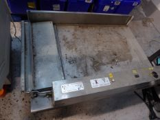 *disabled electric access ramp - has been in storage. Believed to run up to 700mm. 1430w x 1000d x