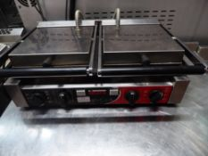 *Sirman double contact grill - cooking area 500w x 260d