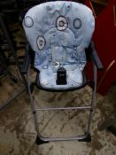 *1 x early years high chair with straps