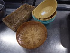 *Selection of baskets x 10