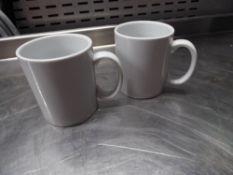 *white mugs - approx 50