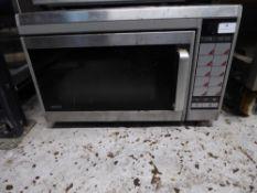 *Sanyo comercial microwave