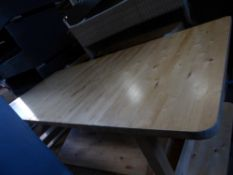 *2 x very large solid beach tables 2220w x 1000d x 630h