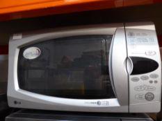 *LG 900w silver domestic microwave