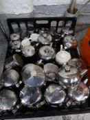 *tea pots and milk jugs x approx 30 items